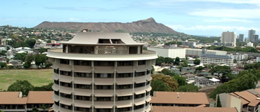 Good Partial View Of Diamond Head And The Mānoa Campus